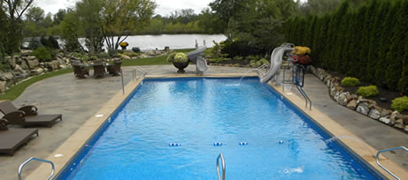Swimming Pool Package Pool Pro Contractors Northwest Indiana In Ground Swimming Pool Installers