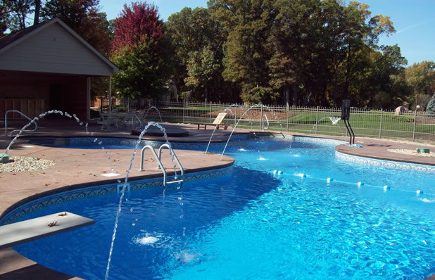 swimming pool gallery pool pro contractors northwest indiana in ground swimming pool installers